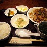 3722151 - 日替り定食(油淋鶏) 800円