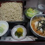 砂場 - 親子丼セット¥850-→¥500-