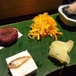 沖縄懐石 赤坂潭亭 - 島人参和えすごく美味しい。