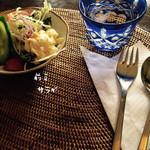 37224116 - ビーフシチューランチ    前菜サラダ