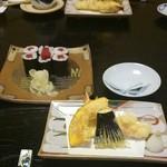 37224469 - 巻物と天ぷら