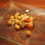 千年葡萄家 - ひよこ豆のサラダ