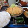 しのざき - 料理写真:ロースカツ定食