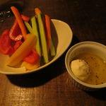 天 - 厳選野菜のスティック・サラダ