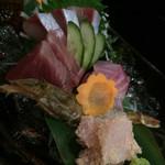 旬海料理ぎんりん - 刺身五点盛り