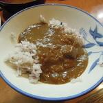 キッチンマム - ご飯をお代わりしたら、カレーをかけてくれます(*^^)v