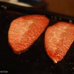 37227929 - 「高麗屋」の絶品焼肉 (産地直送のA4/A5最高級黒毛和牛使用)富士山溶岩焼き