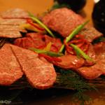 37227935 - 「高麗屋」の絶品焼肉 (産地直送のA4/A5最高級黒毛和牛使用)富士山溶岩焼き
