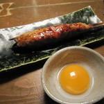 蕎麦屋 山都 - 「鶏つくね串」