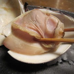 蕎麦屋 山都 - プリッとしたハマグリ