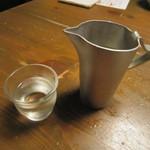 蕎麦屋 山都 - 「冷酒」
