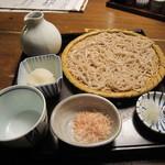 蕎麦屋 山都 - 蕎麦は「高遠」を呼ばれるおろしそばを