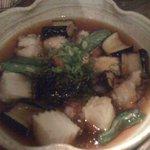 3723941 - マダコと豆腐の揚げ出汁