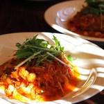 ケンハウス - 煮込みハンバーグ トマトソース味(日替わり)
