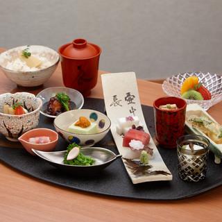 1日30食限定のランチ「彩り膳」