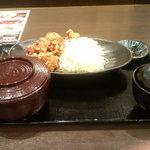 龍馬 軍鶏農場 - 鶏の唐揚げ定食