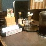 龍馬 軍鶏農場 - テーブルセット