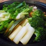 ヘルシー・カフェ・レストラン のら - 蒸し野菜