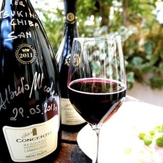 イタリア・フランス中心とした自然派ワインと王道ワイン