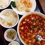37242545 - 四川麻婆豆腐定食