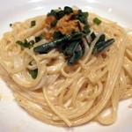 BLUCE - 雲丹のクリームスパゲティ