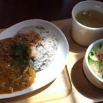 Narashino Cafe - キーマカレーランチ