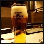うしごろバンビーナ - 生ビール 500円