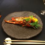 花蝶 - 魚料理       伊勢海老 黄金焼