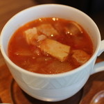 37249193 - ハム屋のトマトスープ