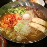 焼肉ホルモン 塩竈 - 冷麺フルサイズ