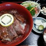 にっぽんの洋食 江戸一 - ★2013/07/09 11:40訪問 ビフテキ丼\1,350