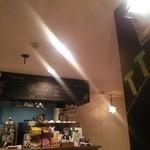 クアトロハーツカフェ - きれいな店内