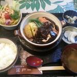 にっぽんの洋食 江戸一 - ★2013/10/09 11:20訪問 ビーフシチュー定食\1,350