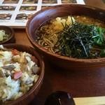 福寿庵本店 - たぬき定食