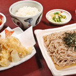海鮮御飯処 陣笠 - 料理写真:天ざる定食