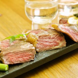 作州名物(津山、美作)!そずり肉料理・牛えんがわ¥750円〜