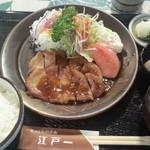 にっぽんの洋食 江戸一 - 2013/11/05 12:05訪問 焼肉定食\1,000