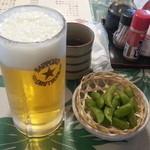 にっぽんの洋食 江戸一 - 2013/11/05 12:05訪問 生ビール\600