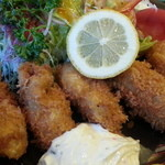 にっぽんの洋食 江戸一 - 2013/11/13 12:05訪問 牡蠣フライはジューシー♪