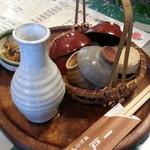 にっぽんの洋食 江戸一 - 2013/11/13 12:05訪問 熱燗セット♪