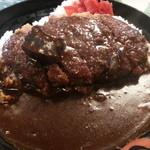 にっぽんの洋食 江戸一 - 2013/11/18 12:05訪問 メンチカレー\900