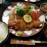 にっぽんの洋食 江戸一 - 2013/12/09 12:25訪問 チキンカツ定食\900