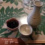 にっぽんの洋食 江戸一 - 2013/12/09 12:25訪問 熱燗\400