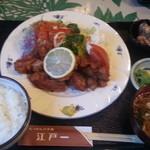 にっぽんの洋食 江戸一 - 2013/12/16 12:20訪問 鶏唐揚げ定食
