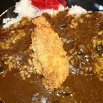 にっぽんの洋食 江戸一 - 2014/01/08 12:10訪問 牡蠣フライonカレー♪