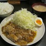 らーめん 太閤 - 山賊焼き定食