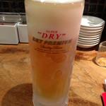 37254192 - 生ビールはスーパードライ