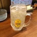 徳田酒店 - メガ角ハイボール 通常価格490円