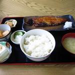 37255121 - サバみりん定食