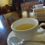 カフェノア - ランチセットのコンソメジュリエンヌ。野菜の優しい甘さが良いですね。